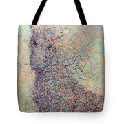 Wild Horse Tote Bag by James W Johnson