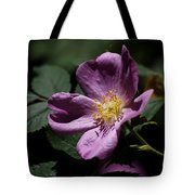 Wild Rose Tote Bag by Rona Black