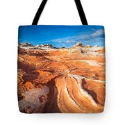 Wild Sandstone Landscape Tote Bag by Inge Johnsson