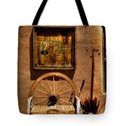 Wild West T-shirts - Old Town New Mexico Tote Bag by David Patterson