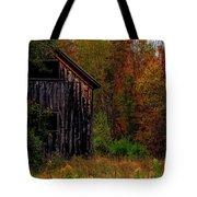 Wilderness Barn Tote Bag by Brenda Giasson