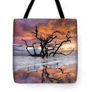 Wildfire Tote Bag by Debra and Dave Vanderlaan