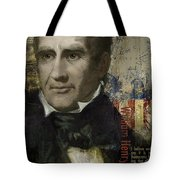 William Henry Harrison Tote Bag by Corporate Art Task Force