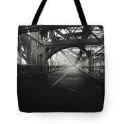 Williamsburg Bridge - New York City Tote Bag by Vivienne Gucwa