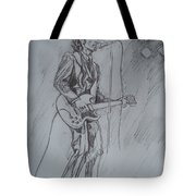 Mink Deville - Steady Drivin' Man Tote Bag by Sean Connolly