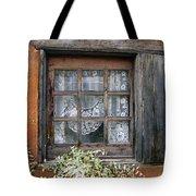 Window At Old Santa Fe Tote Bag by Kurt Van Wagner
