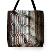 Window Decay Tote Bag by Adrian Evans