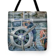 Windshield Wiper Tote Bag by Trever Miller