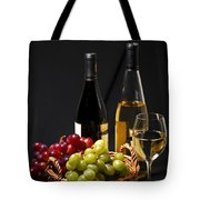 Wine And Grapes Tote Bag by Elena Elisseeva