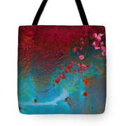 Wine And Roses Tote Bag by Ann Powell