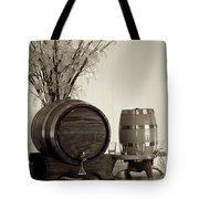 Wine Barrels Tote Bag by Alanna DPhoto