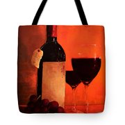 Wine Bottle  Tote Bag by Patricia Awapara