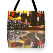 Wine Reflections Tote Bag by PainterArtist FIN