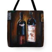 Wine Trio Tote Bag by Danise Abbott
