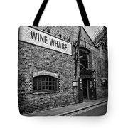 Wine Warehouse Tote Bag by Heather Applegate