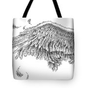Wing Tote Bag by Adam Zebediah Joseph