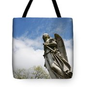 Winged Angel Tote Bag by Jennifer Ancker