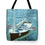 Winner's Circle Tote Bag by Danielle  Perry