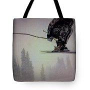 Winter Flight Tote Bag by George Pedro