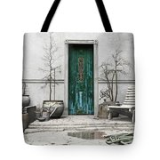 Winter Garden Tote Bag by Cynthia Decker
