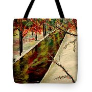Winter In the Park  Tote Bag by Mark Moore
