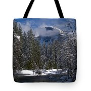 Winter In The Valley Tote Bag by Bill Gallagher