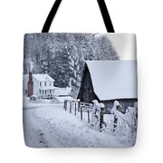 Winter In Virginia Tote Bag by Benanne Stiens