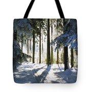 Winter Landscape Tote Bag by Aged Pixel