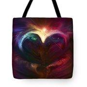 Winter Love Tote Bag by Linda Sannuti