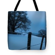 Winter Moon Tote Bag by Bill Wakeley