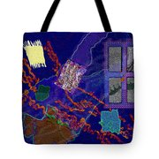 Winter Remnants Tote Bag by Mathilde Vhargon