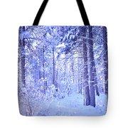 Winter Solace Tote Bag by Tara Turner