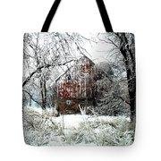 Winter Wonderland Tote Bag by Julie Hamilton
