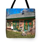Winterberry Farm Stand Tote Bag by Guy Whiteley
