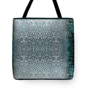 Winters Past And Present Tote Bag by CR Leyland