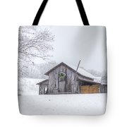 Winter's Past Tote Bag by Benanne Stiens
