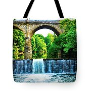 Wissahickon Falls Tote Bag by Bill Cannon