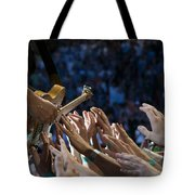 With These Hands Tote Bag by Jeff Ross
