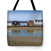 Wivenhoe Waterfront Tote Bag by Gary Eason