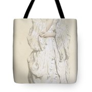 Woman In A Dressing Gown Tote Bag by French School