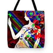 Wonder At The End Of The Rainbow Tote Bag by Angelina Vick
