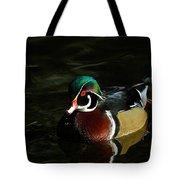 Wood Duck Drip Tote Bag by Steve McKinzie