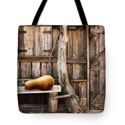 Wooden Shack Tote Bag by Carlos Caetano