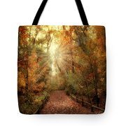 Woodland Light Tote Bag by Jessica Jenney