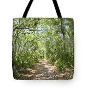 Woodland Path Tote Bag by Glennis Siverson