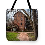 Wood's Grist Mill In Hobart Indiana Tote Bag by Paul Velgos