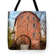 Wood's Grist Mill In Northwest Indiana Tote Bag by Paul Velgos