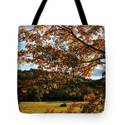 Woodstock Vermont Tote Bag by Edward Fielding