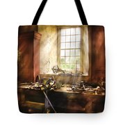 Woodworker - Many Old Tools Tote Bag by Mike Savad