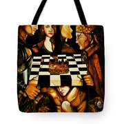 World Chess   Tote Bag by Dalgis Edelson